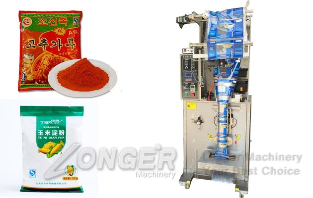 Spice Chili Masala Turmeric Powder Sachet Packaging Machine CKLF-500