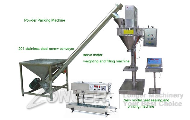 Detergent Washing Powder Packaging Machine|Medicine Powder Soap Packing Machine LG-1