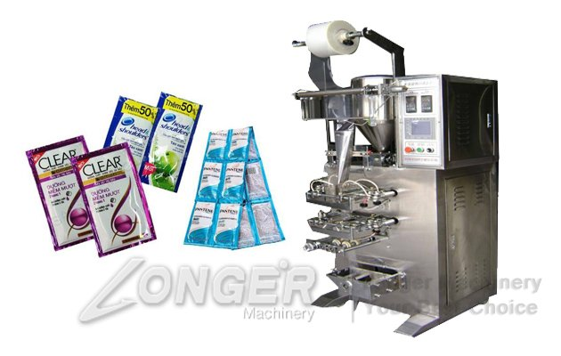 Shampoo Sachet Filling Packing Machine