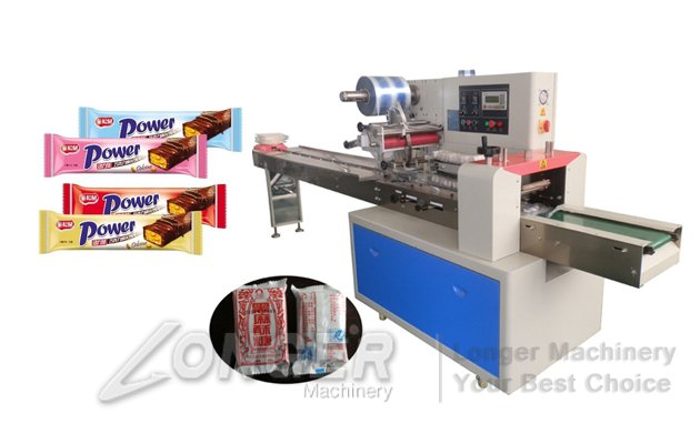 Flow Wrap Machine For Biscuit|Cookie|Cake Packing Machine