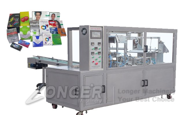 Cosmetic Box Wrapping Machine|Perfume Box Cellophane Wrapping Machine LGBZ-400A