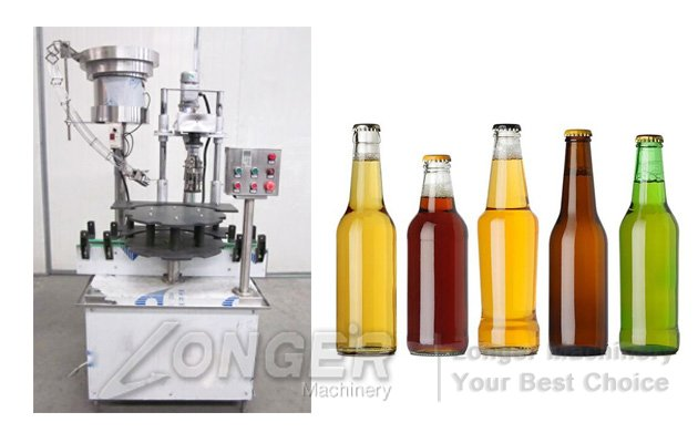 Automatic Jars Bottles Capping Machine|Cap Screwing Machine