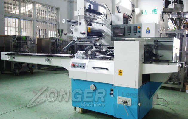 Chocolate Bar Wrapping Machine|Pillow Type Packaging Machine