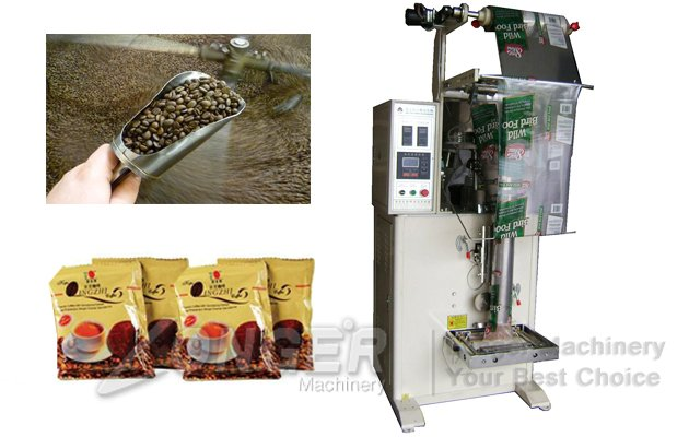 Coffee Beans Packaging Machine|Granules Pouch Packing Machine LG-LK350