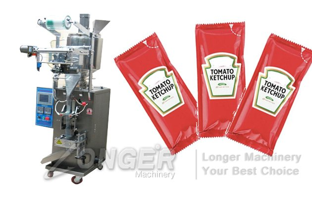 Ketchup Sachet Filling Machine|Sauce Sachet Packaging Machine LG-300