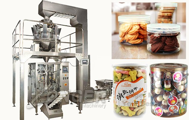 Automatic Biscuit Bagging Machine|Cookie Filling Packaging Machine