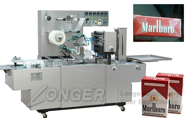 LGB-200A Cigarette Case Wrapping Machine|Cellophane Wrapping for Cigarettes