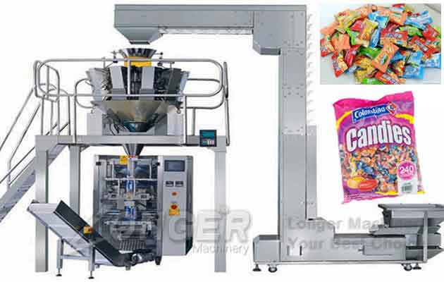 Candy Wrapping Machine|Sweet Candy Bag Packing Machine
