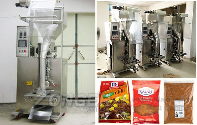 Seasoning Powder Sachet Filling Machine|Flavoring Bags Packaging Machine
