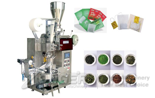 Automatic Tea Bags Packaging Machine Inner and Outer Envelope