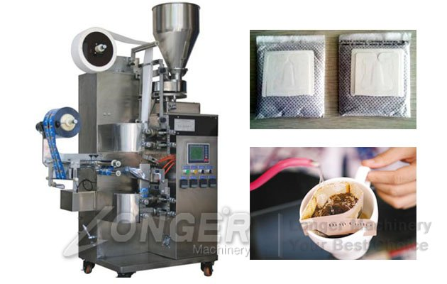 Ear Type Coffee Packaging Machine|Drip Coffee Bag Packing Equipment