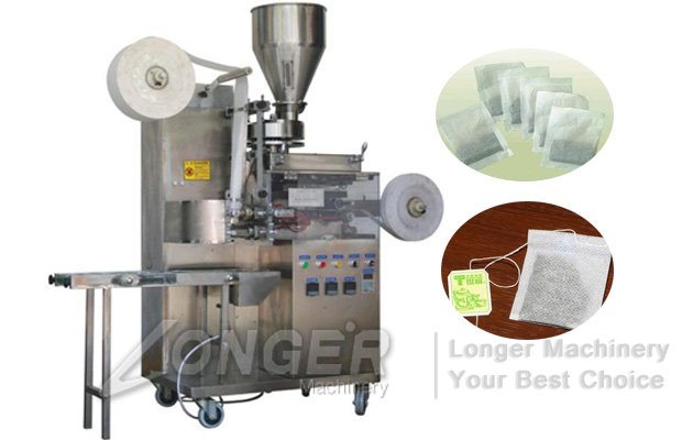 Single Layer Tea Packing Machine|Simple Tea Bag Making Machine