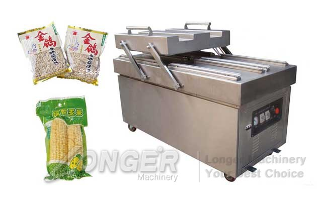 Double Chamber Food Vacuum Packaging Machine