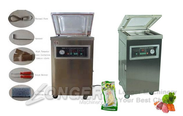 Single Chamber Vacuum Packaging Machine For Food
