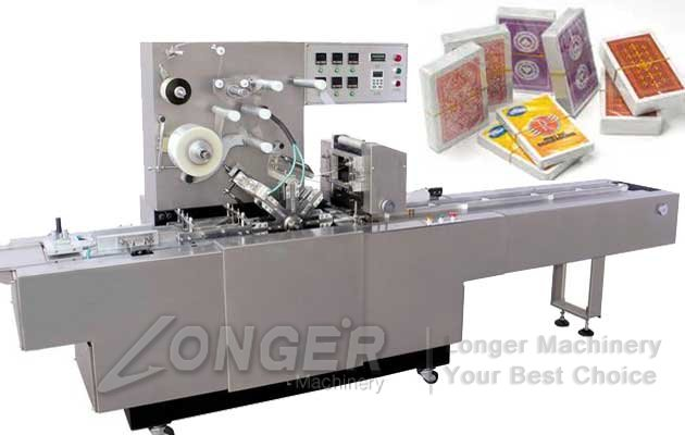 Automatic Cellophane Over Wrapping Machine For Business Card LGBZ-200B