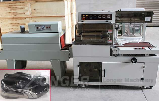High Speed Shoe Shrink Wrapper Machine