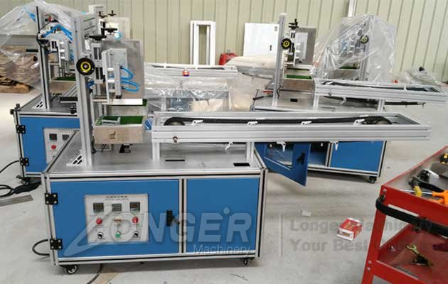 Tissue Paper Box Sealing Packing Machine