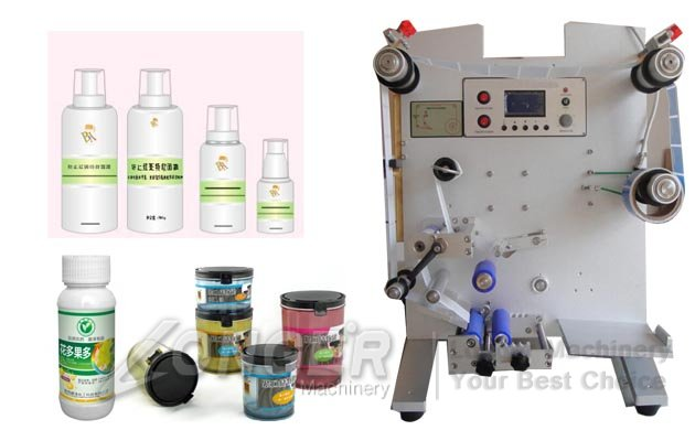 Automatic Bottle Labeling Machine|Round Bottle Labeling Machine