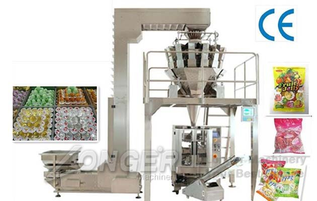 Automatic Potato Chips Weight Packaging Machine|Pellet Snack Pouch Filling Machine
