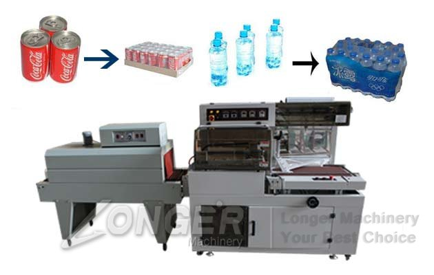 Bottle Shrink Wrapping Machine LGBS-4525LA