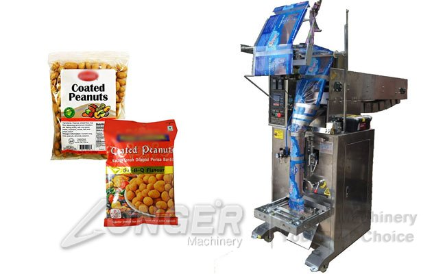 <strong>Coated Peanuts Packaging Machine|Granule Sachet Packing Machine</strong>