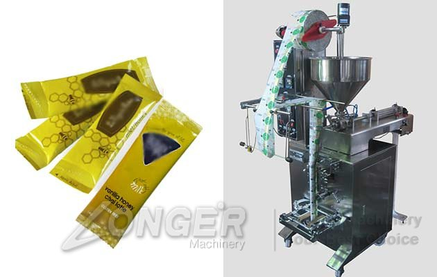 Automatic Sachet Honey Filling Machine|Honey Pouch Packing Machine