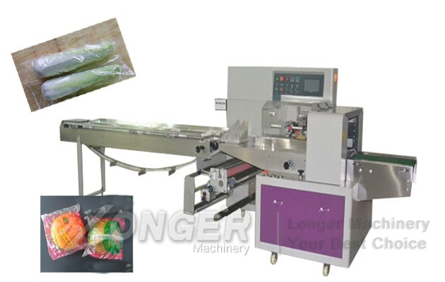 Fruit and Vegetable Pouch Pillow Type Packaging Machine