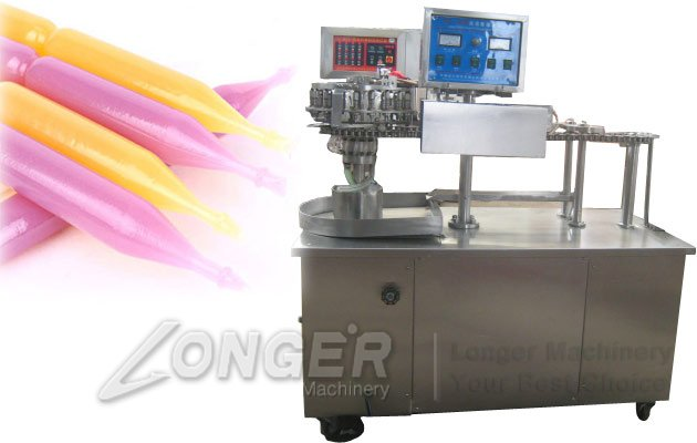 Fruit Juicy Pouch Filling Machine|Soft Bag Ice Pop Filling Machine