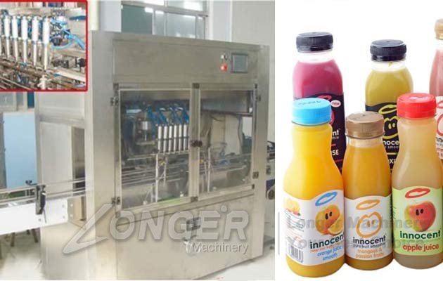 Liquid Water Bottling Line|Juice Bottle Filling Packaging Line