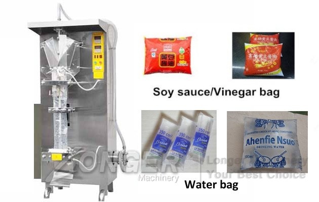 Vinegar Pouch Packaging Machine|Soy sauce Filling Sealing Machine