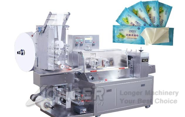 Single Sachet Wet Wipes Machine|Wet Tissue Packaging Machine LG-260
