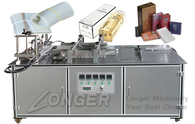 Manual Wrapping Perfume Box Machine|Semi-automatic Cellophane Box Over Wrapping Equipment LGB-A
