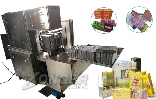 Medicine Box Film Wrapping Machine|Automatic Cellophane Over Wrapping Equipment