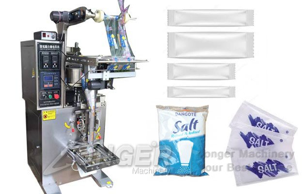 Salt Pouch Packing Machine|Automatic Salt Sugar Packaging Machine