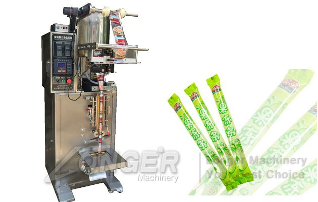 Ice Pop Liquid Strip Filling Sealing Machine|Liquid Popsicle Packaging Machine