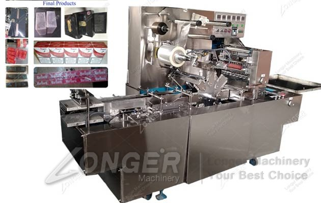 LGB-200B Automatic BOPP Film Cellophane Wrapping Machine