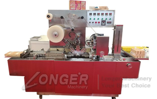 CD Cellophane Wrapping Machine|DVD VCD Box Overwrapper Machine