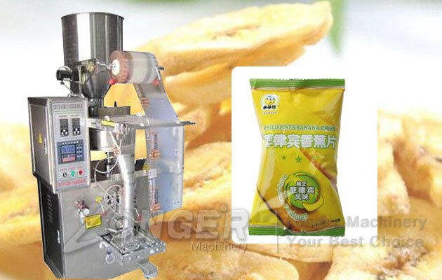 Vertical Potato Banana Chips Snack Packaging Machine LG-350