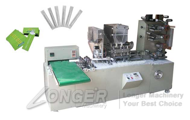 Automatic Chopsticks Paper Packing Machine With Printing