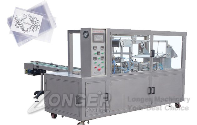 Box Cellophane Packaging Machine For Gift