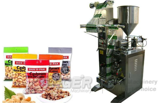 Vertical Potato Banana Chips Snack Packaging Machine LG-LK350