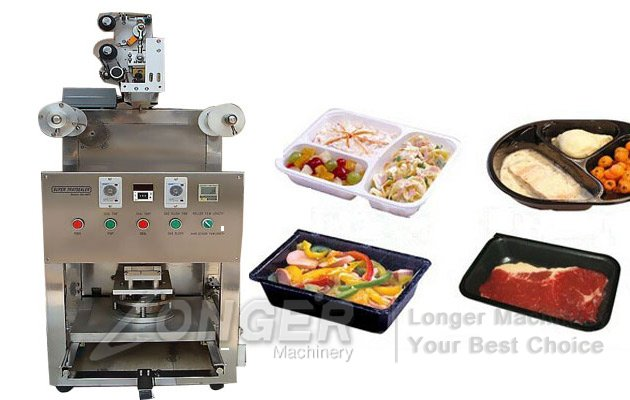 LGKIS-1 Small Tray Sealing Machine|Automatic Tray Sealing Machine