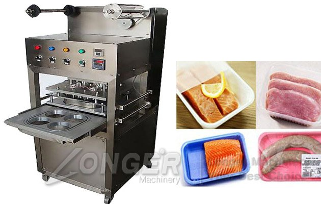 LGS-4 Type Tray Sealing Machine|Automatic Tray Sealing Machine
