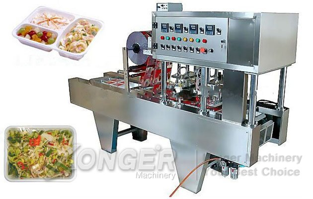 Continuous Tray Filling And Sealing Machine For Sale