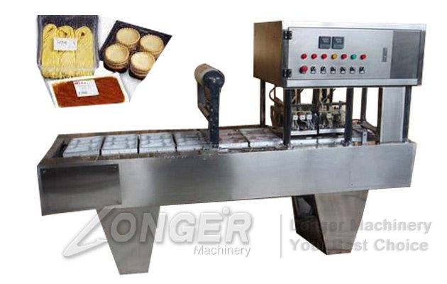 food tray filling and sealing machine