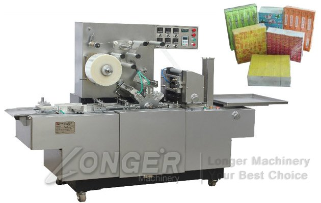 cellophane packing machine