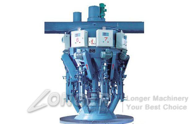 rotary cement packing machine