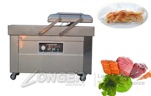 double vacuum packing machine
