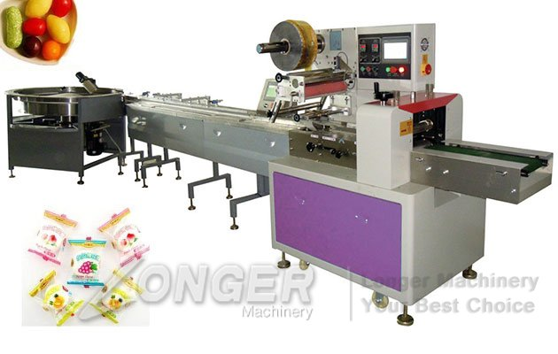 High Speed Automatic Pillow Type Sugar Packing Machine