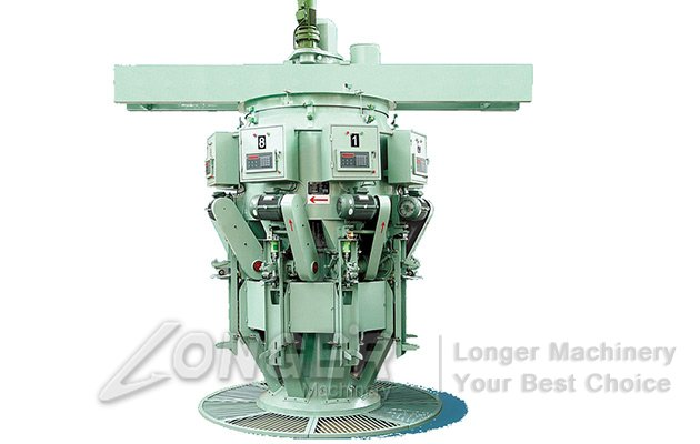 rotary lime packing machine